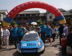 Solartaxi Team in Kunming in China